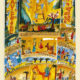 Parasha Vayetze – Parashot Vayetze - THIS WEEK'S Parasha n.07 Jewish Art , The Studio in Venice by Michal Meron – The Illustrated Torah Scroll