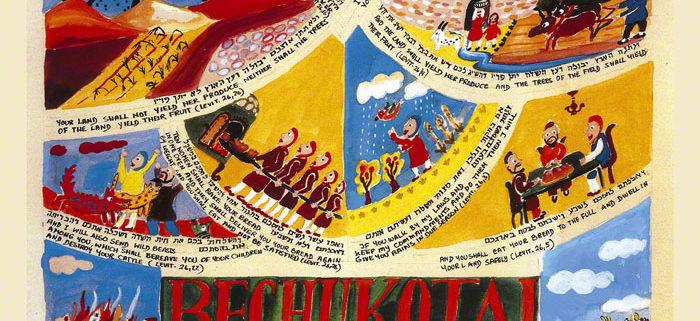 Parashot Bechukotai Parasha Bechukotai Bechuktai THIS WEEK'S Parasha n.34 Jewish Art Studio Venice