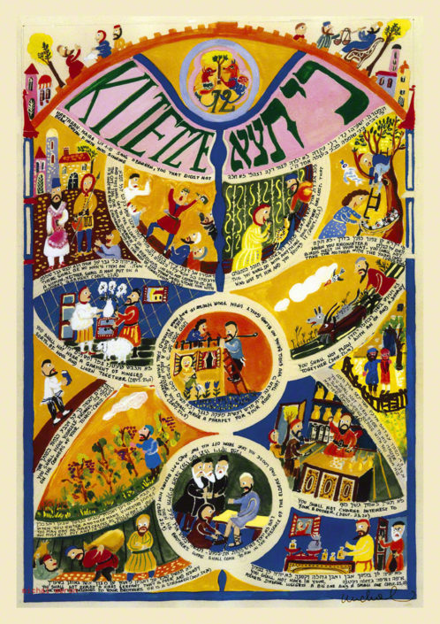 Parasha Kitetze – Parashot Kitetze Parasha Kitetze - THIS WEEK'S Parasha n.50 Jewish Art The Studio in Venice by Michal Meron – The Illustrated Torah Scroll