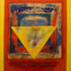 Jewish Abstract Painting Kabbalah Symbols Love thy neighbour Kedoshim