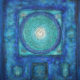Peace Circles Blue Aquamarina