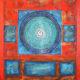 Peace Circles Blue Orange