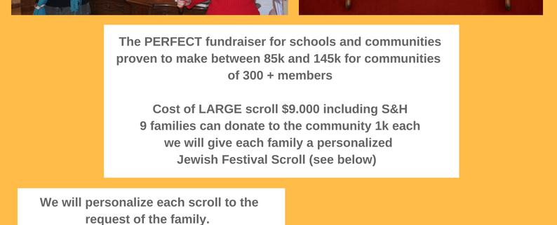 Illustrated Torah Scroll and Jewish Festivals