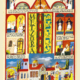 Parasha Metzora – Parashot Metzora - THIS WEEK'S Parasha n.29 Jewish Art - The Studio in Venice by Michal Meron – The Illustrated Torah Scroll