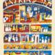 Parasha Tazria – Parashot Tazria - THIS WEEK'S Parasha n.28 Jewish Art - The Studio in Venice by Michal Meron – The Illustrated Torah Scroll