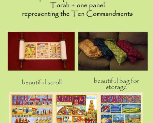 Mini Illustrated Torah Scroll - SPECIAL OFFER_1_LQ