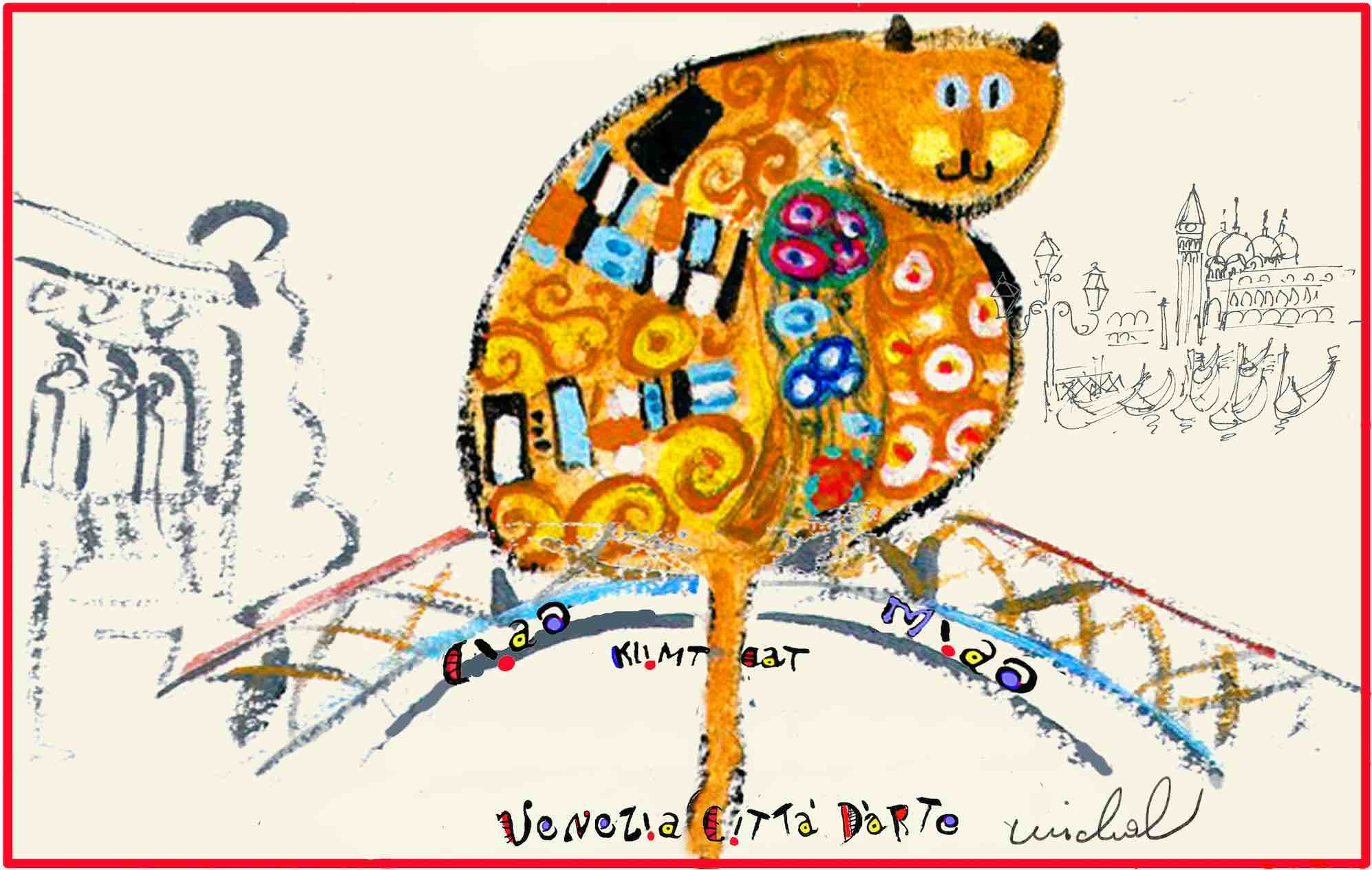 The Studio in Venice by Michal Meron - Artistic Caz - Klimt Single