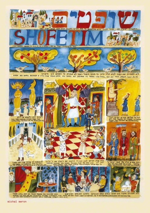 Parashot Parasha Shoftim - Shofetim n.49 The Studio in Venice by Michal Meron