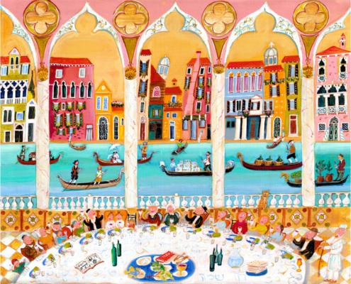 Parashot Parasha Pessach Passover The Studio in Venice by Michal Meron